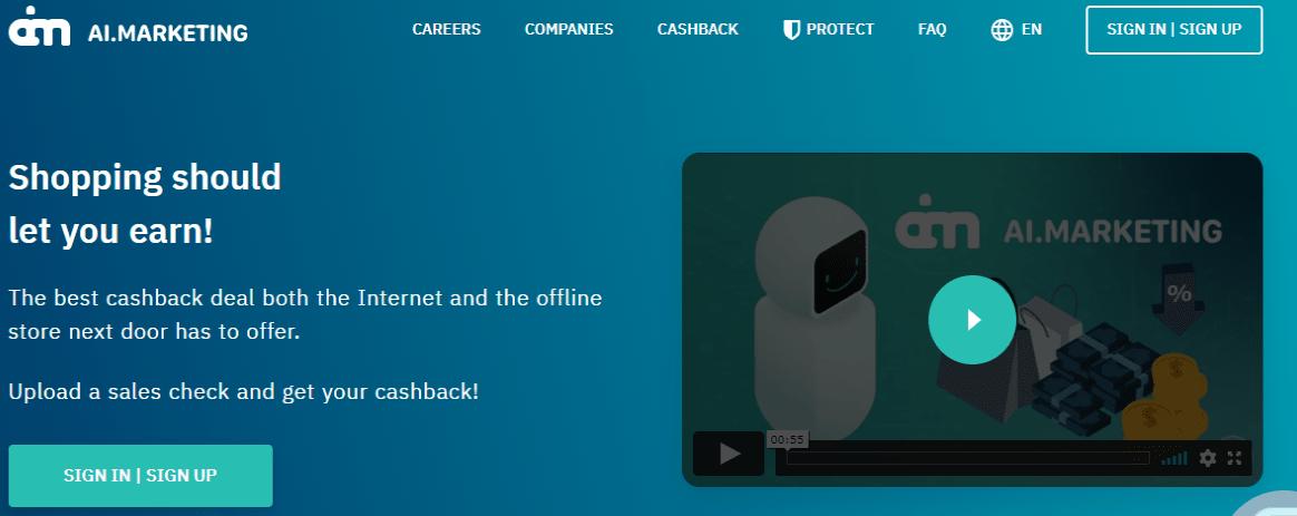 Ai Marketing home page