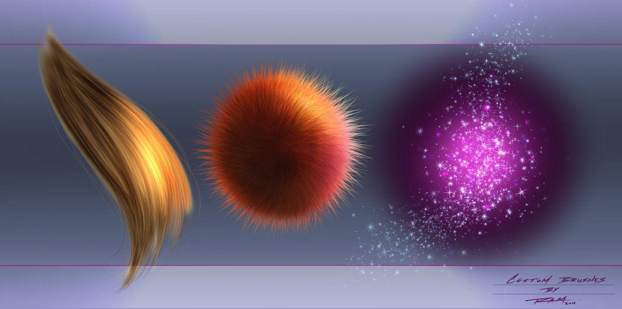 Hair - Fur - Magic Effect Custom Brushes by robertmarzullo ...