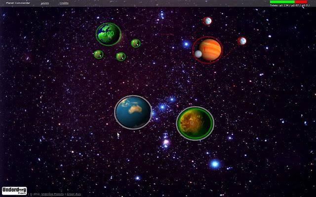 Planet commander chrome web store for Commander plantes