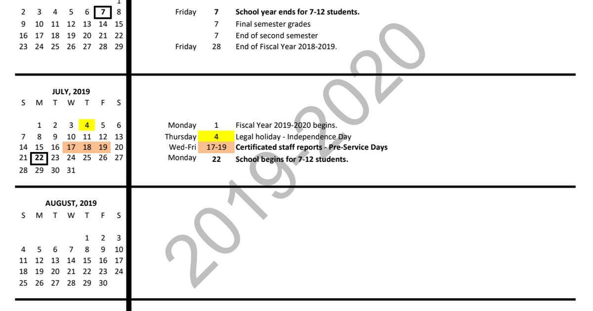 Student Calendar 2020 16 19 20 Student Calendar.pdf   Google Drive