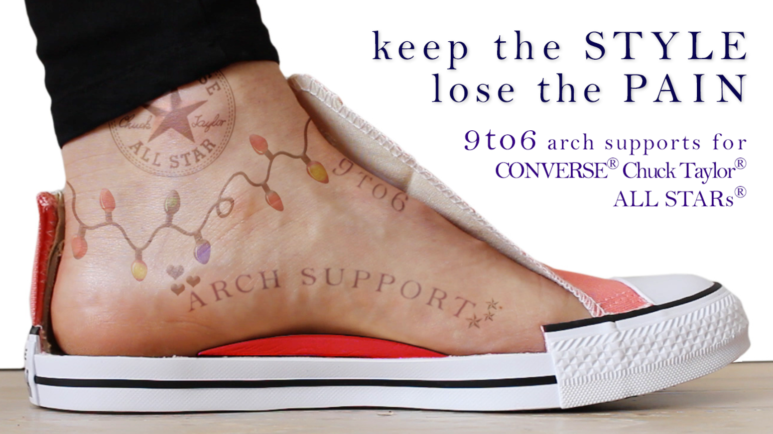 Built In Arch Support Of Shoes