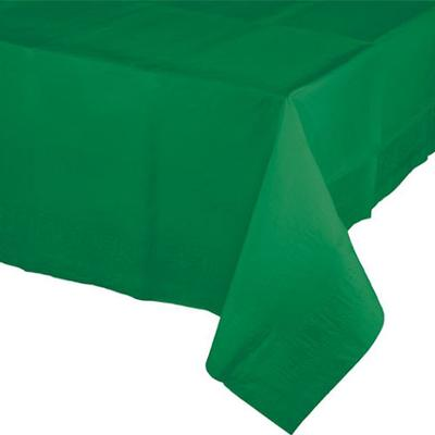 Discount Party Supplies Emerald Green Tablecover Paper Premium 274cm x 137cm