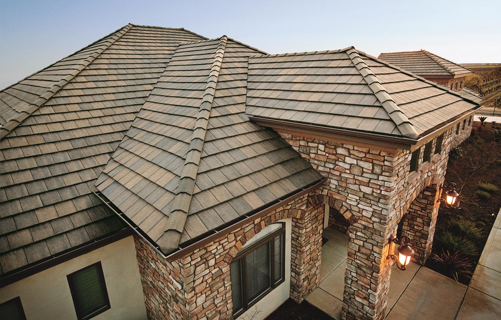 какие бывают крыши частных домов фото