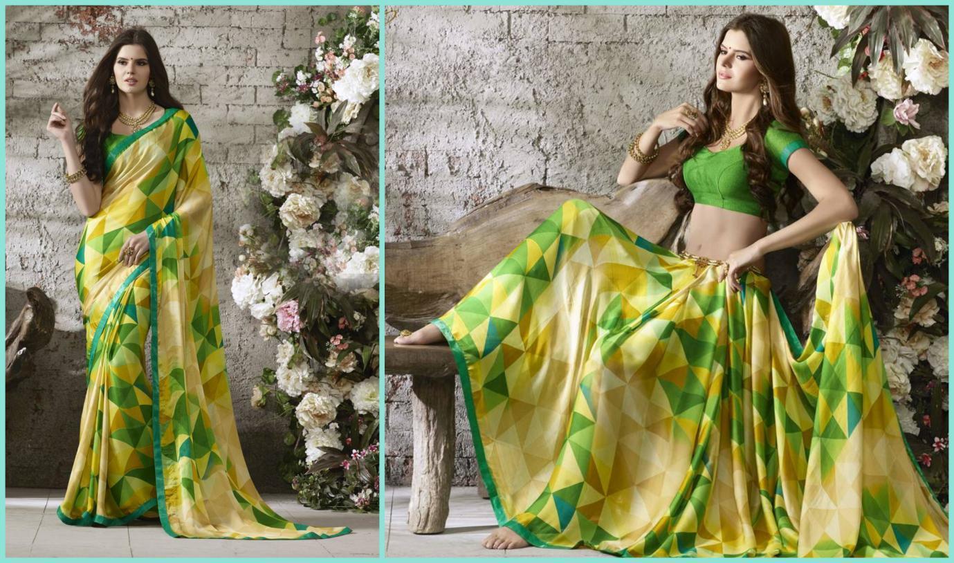 Chiffon sarees online shopping