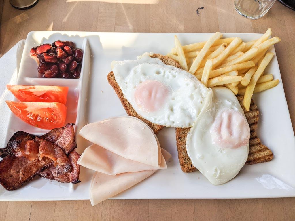 Senigallia Boat Hotel breakfast