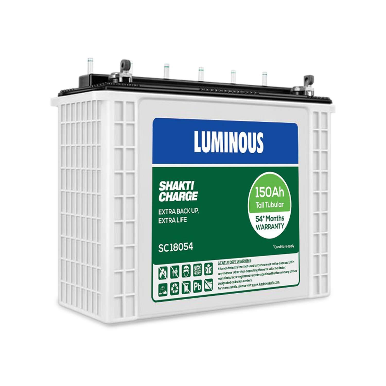 Luminous SC18054, 150AH Inverter Battery
