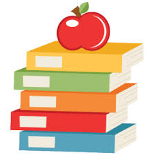 Image result for apple and books clipart
