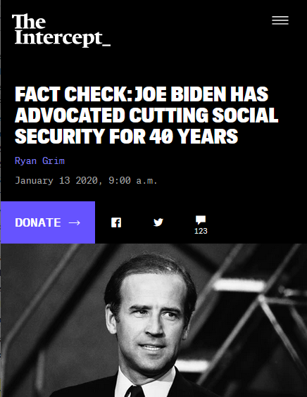 Factcheck: Joe Biden Has Advocated Cutting Social Security for 40 Years