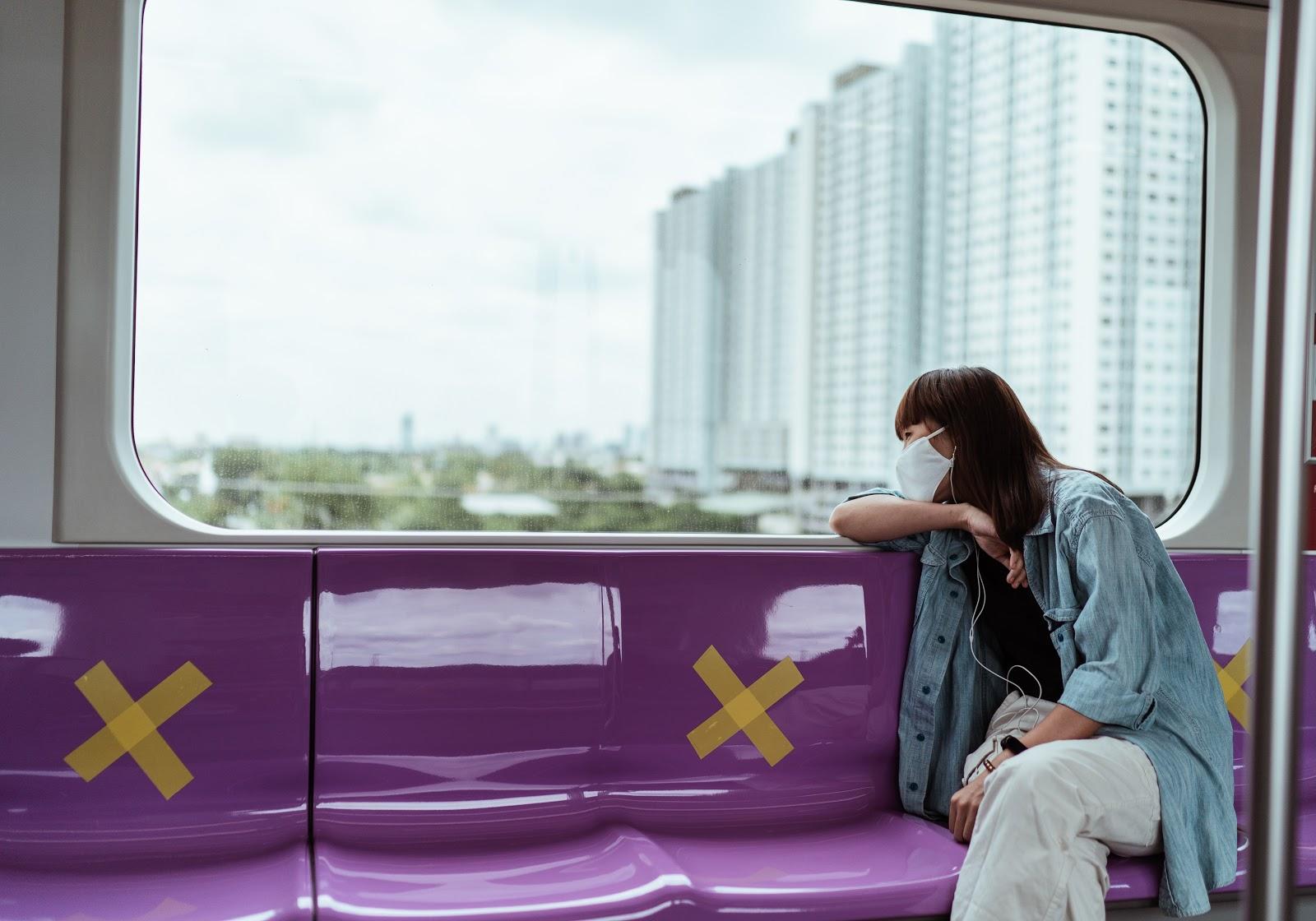 Mesmo com medidas de segurança sanitária, passageiros deixaram de utilizar transporte coletivo (Fonte: Pexels/Ketut Subiyanto)
