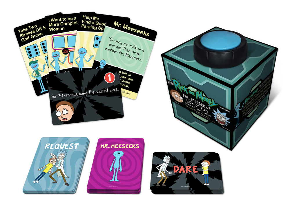 Rick and Morty: Mr. Meeseeks' Box o' Fun — Game of Dice & Dares