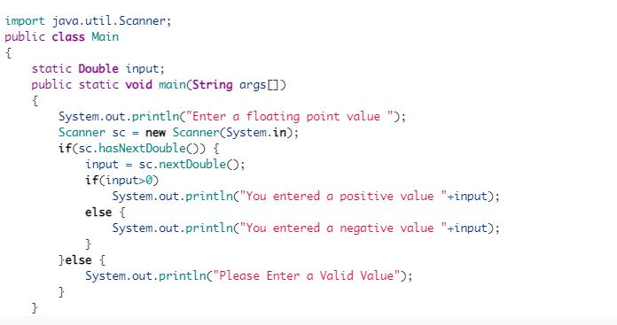 Java input validation