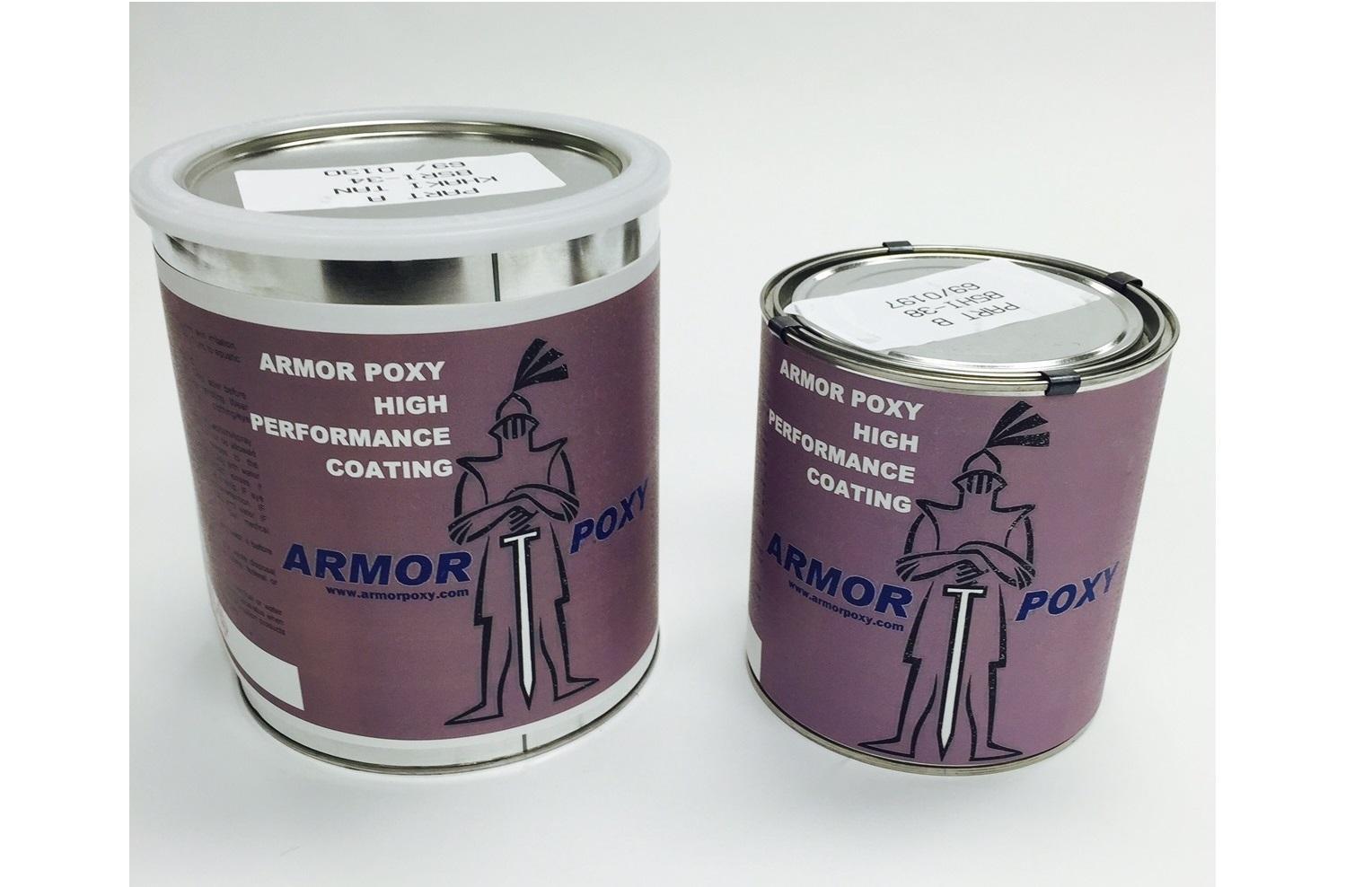ArmorUltra ArmorTallic Metallic 100% Solids Epoxy