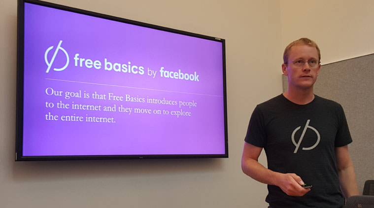 Chris Daniels, vice-president of Internet.org, announcing Free Basics..jpg