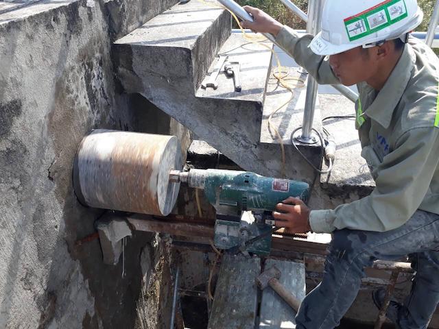Dịch vụ khoan cắt bê tông tại Tây Ninh giá rẻ và chất lượng cao