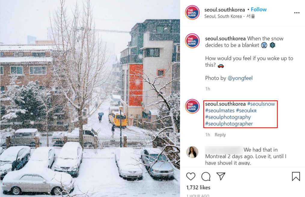 growing instagram with hashtags