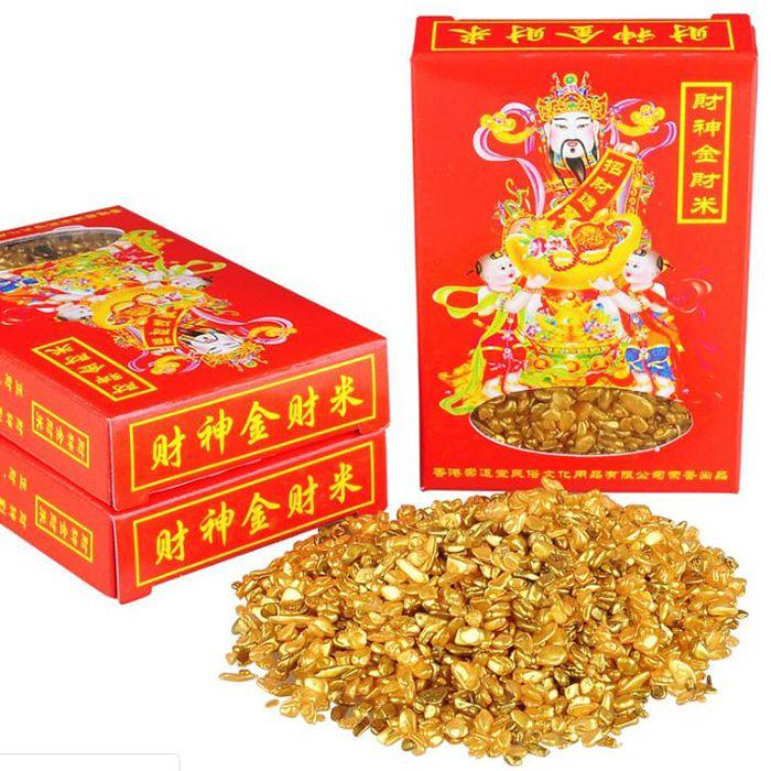 Gạo vàng thần tài