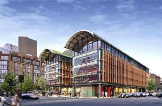 Redesign, St. Lawrence Market North Exterior, by Rogers Stirk Harbour with Adamson Associates