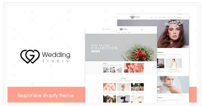 Wedding - Shopify wedding theme
