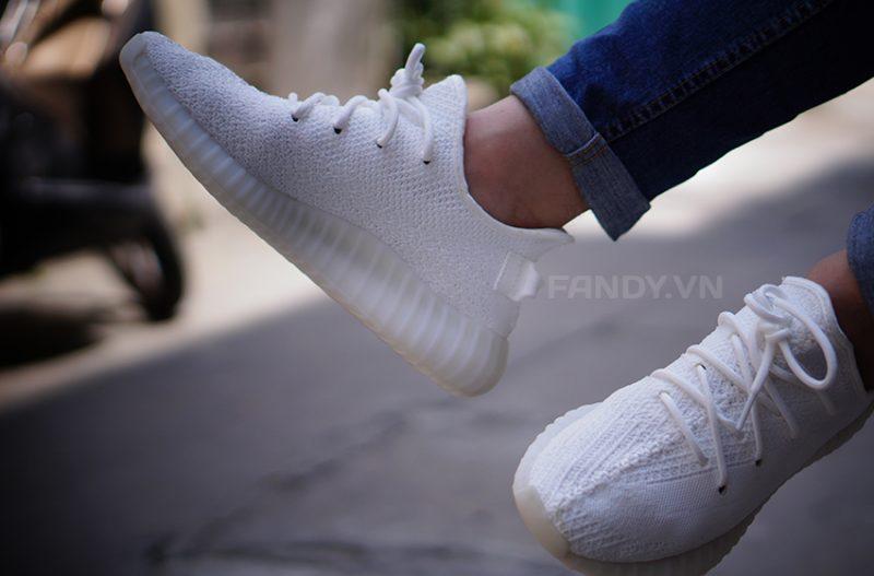 Adidas yeezy boost 350 v2 cream white - trắng thuần khiết
