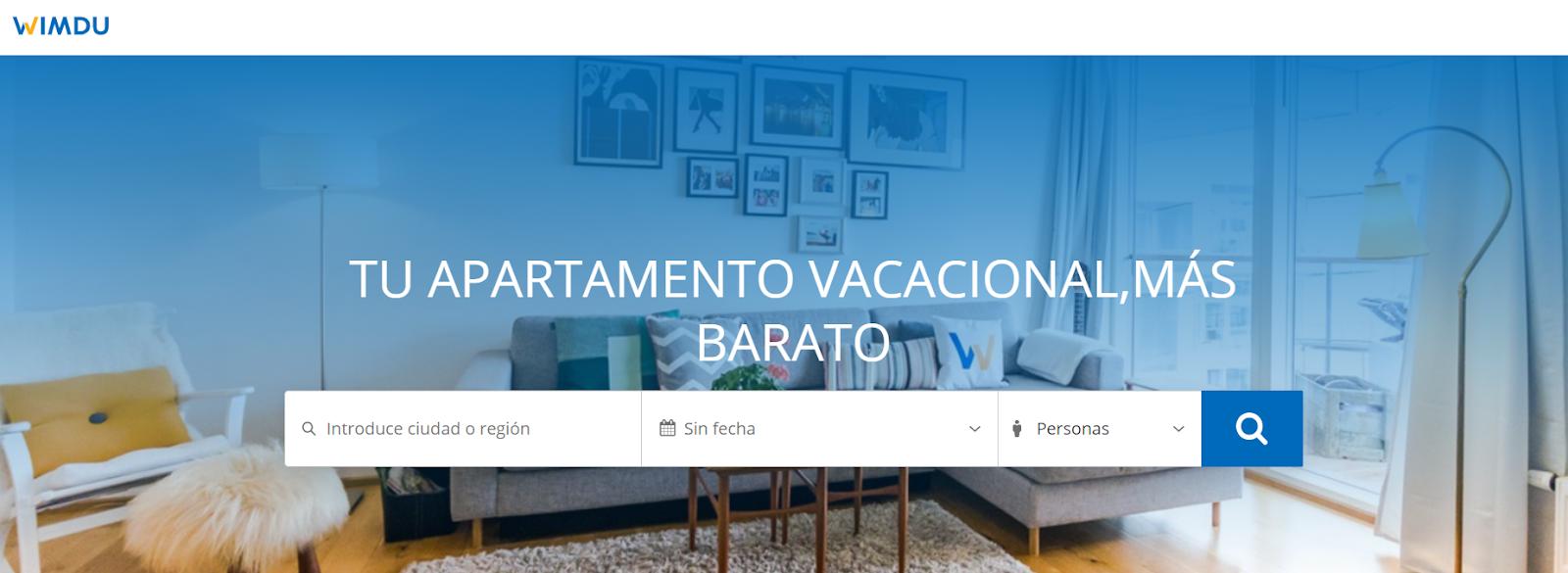 alternativas a Airbnb Wimdu
