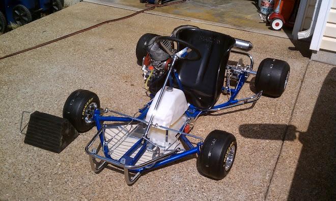 think it 39 s a margay sr 16 margay vintage karts. Black Bedroom Furniture Sets. Home Design Ideas