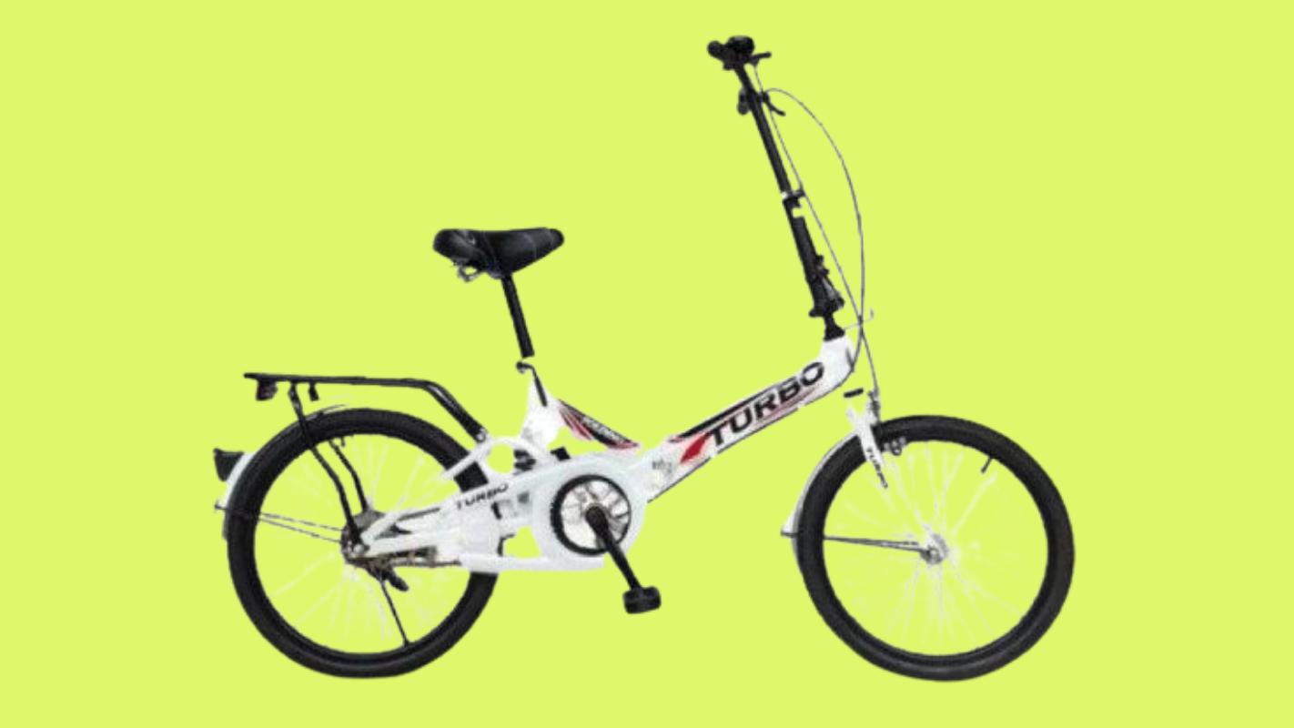 8. Turbo จักรยานพับได้ Turbo รุ่น Steel 20 นิ้ว