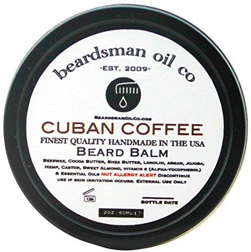Beardsman Oil Co Beard Balm- Cuban Coffee 2oz