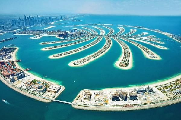 Plage The Palm Jumeirah à Dubaï