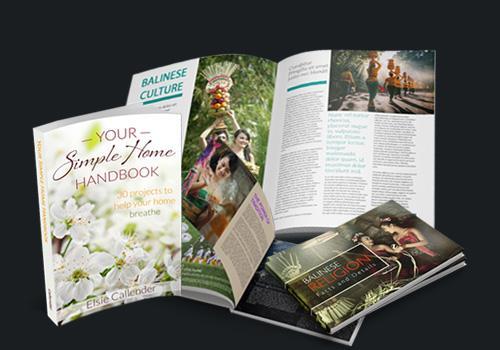 Hasil cetak majalah di Bali Print Shop