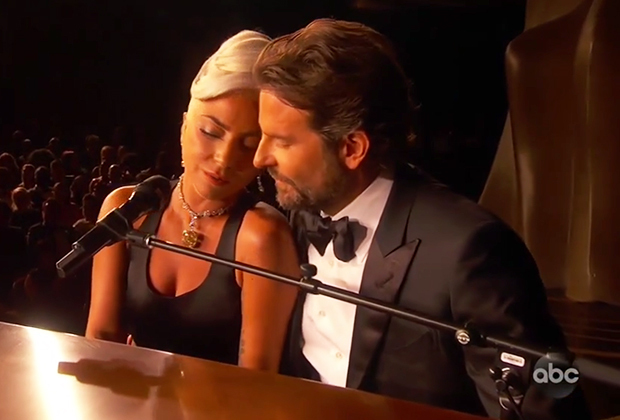 Image result for lady Gaga 2019 oscar performance