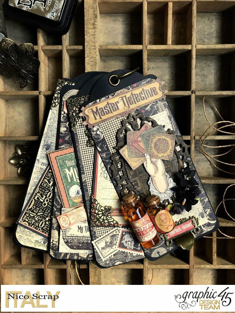 album of curiosities, master detective, photo 3, by Nico Scrap, Product by Graphic 45..jpg