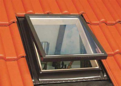 прямоугольные (квадратные) мансардные окна