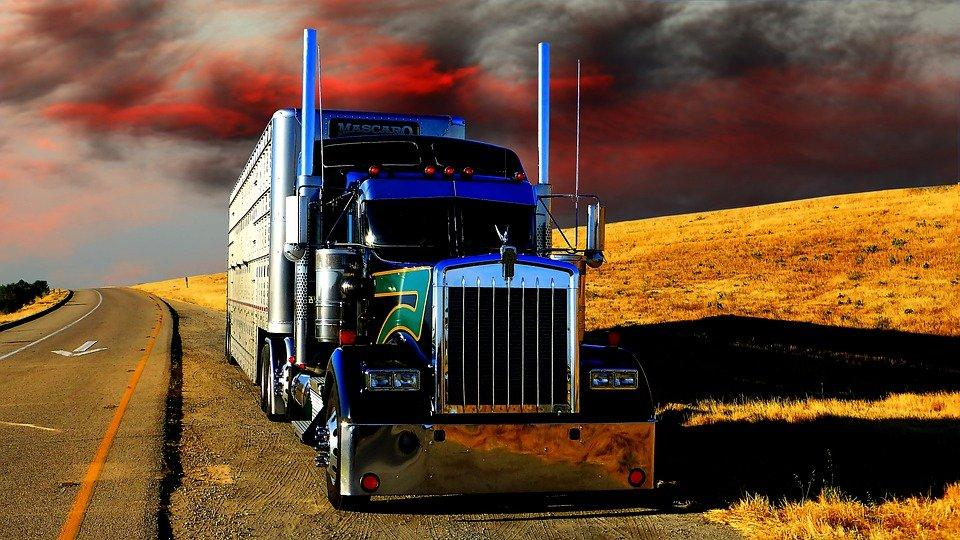Transport, Truck, Layer Of The Sun, Nature, Shipping
