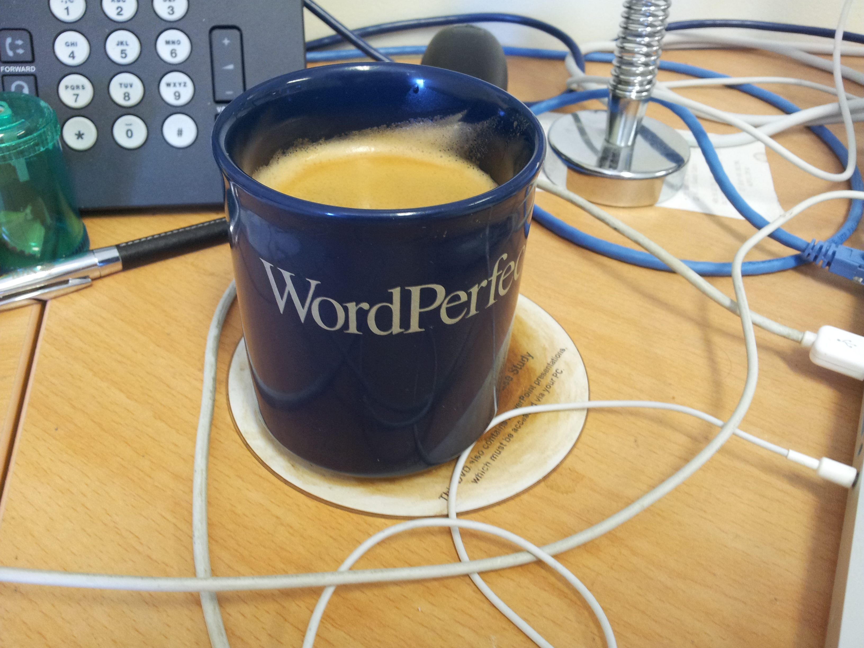 WordPerfect Mug