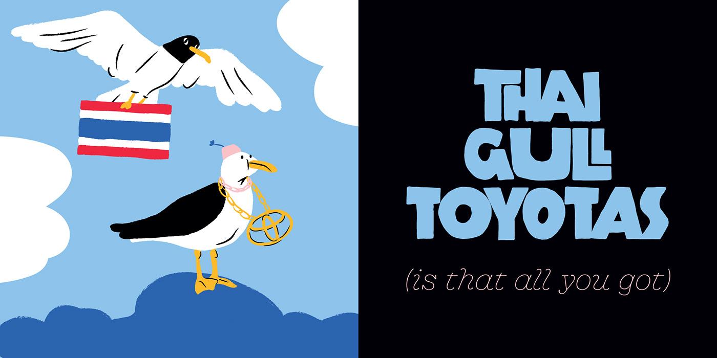 Image may contain: bird, cartoon and animal