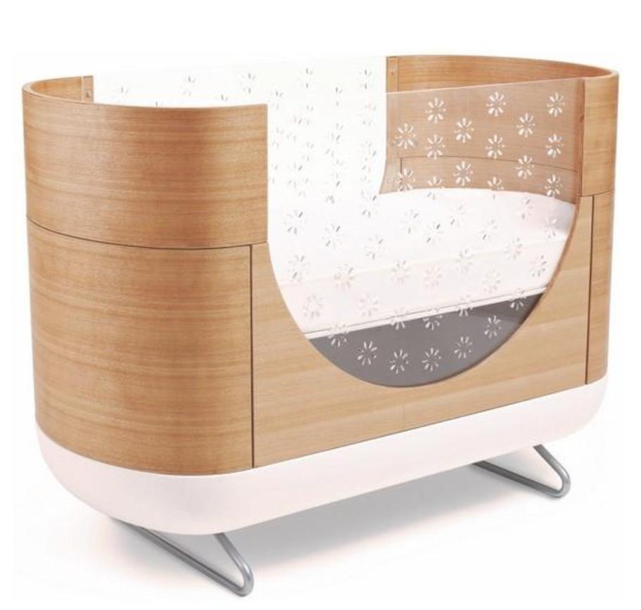 Oval Cribs - Modern Nursery