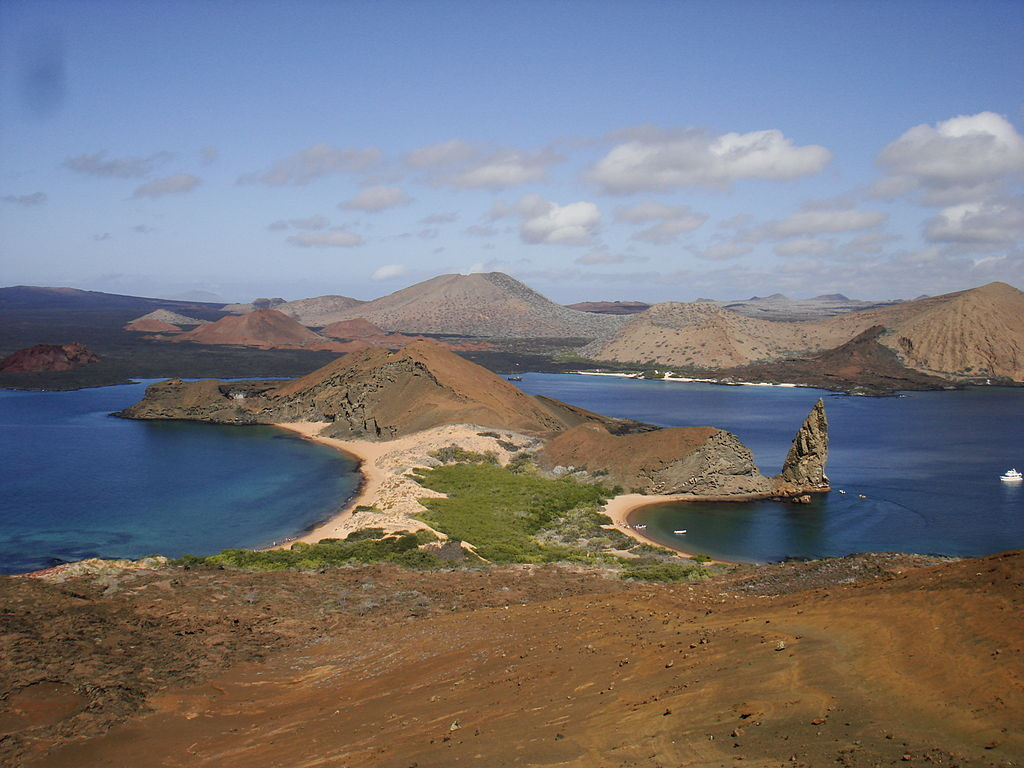 Bartolomé island Galapagos Pinnacle Rock