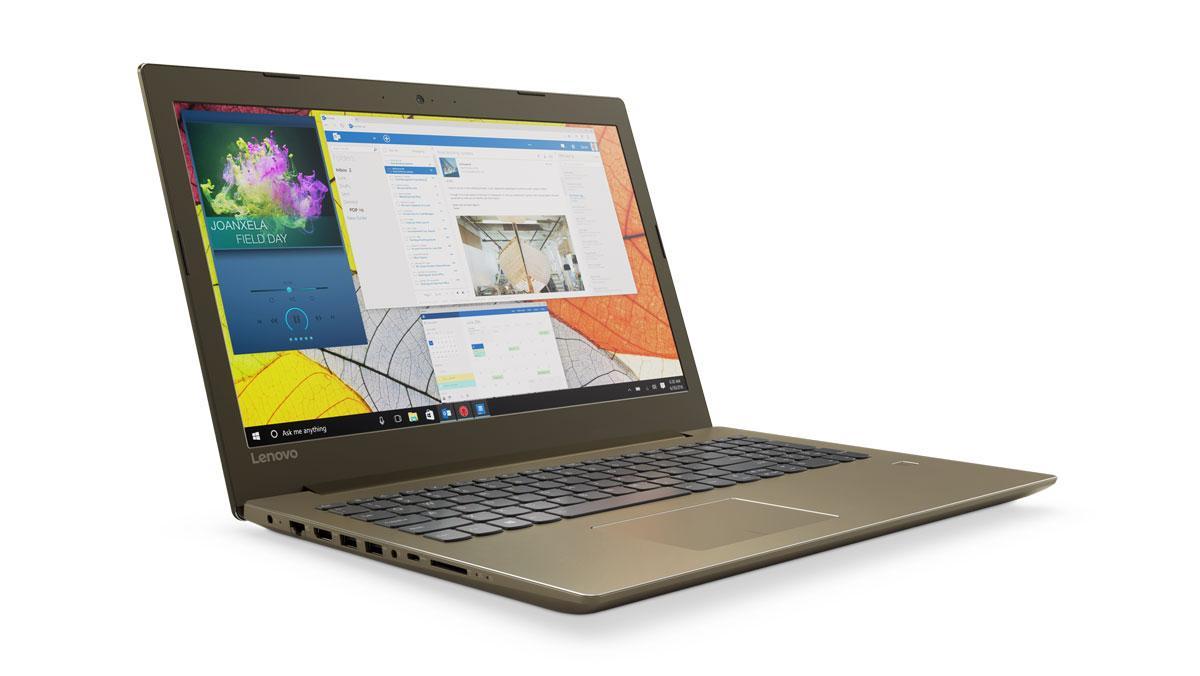 Фото 2 - Ноутбук Lenovo IdeaPad 520-15IKB Bronze (80YL00LLRA)