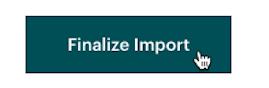 El cursor hace clic - Finalizar importación - Subir archivo