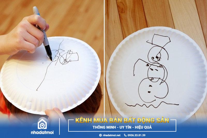 Trò chơi vẽ người tuyết - trò chơi Noel cho bé siêu hấp dẫn