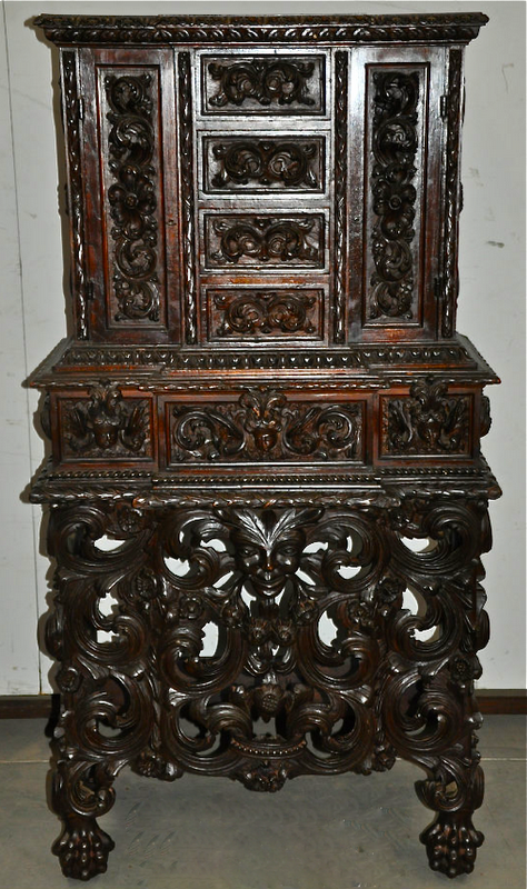 Шкаф-кабинет, Франция, 18 век