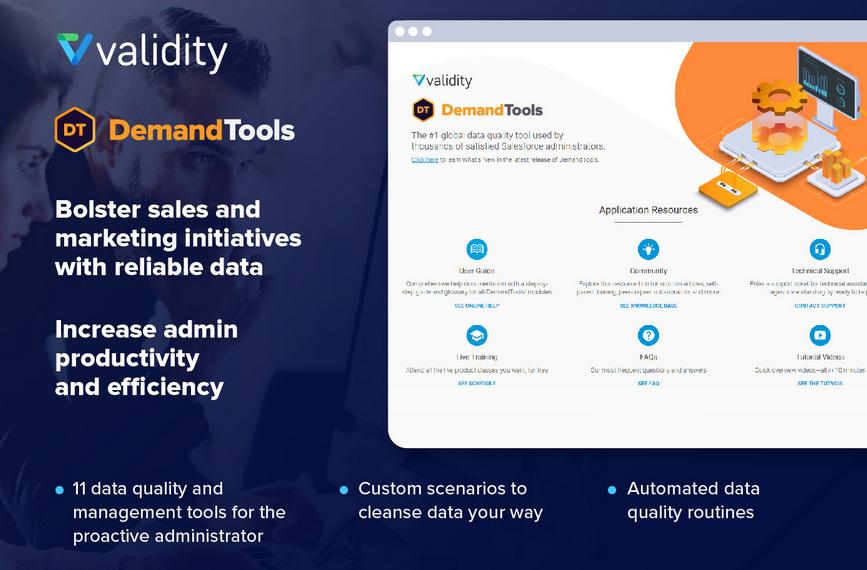 demandTools as a top plugin for Salesforce CRM
