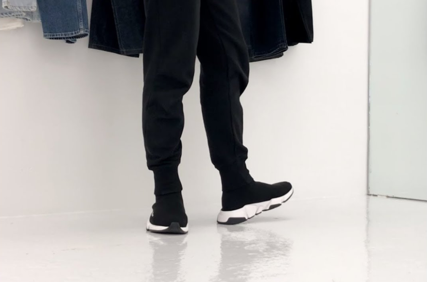 Mẫu Sneaker cổ cao cho phái mạnh