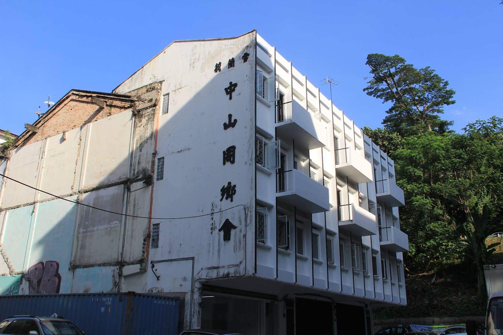 the zhongshan building