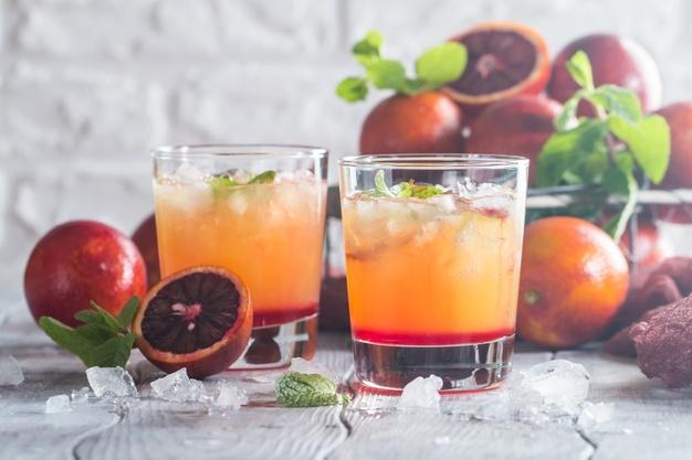 tequila snowfall sunrise cocktail