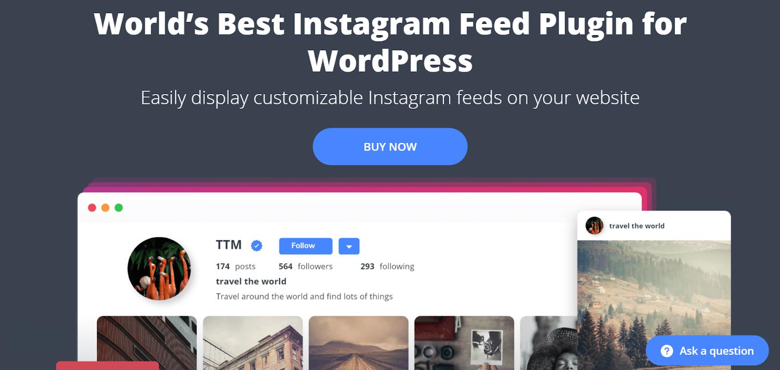 Best Instagram Plugins for WordPress | 10Web Social Photo Feed
