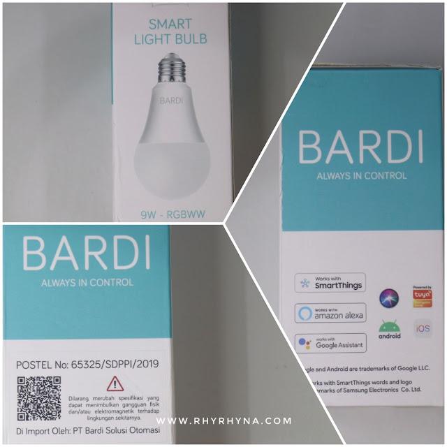 BARDI Smart Bulb 9W