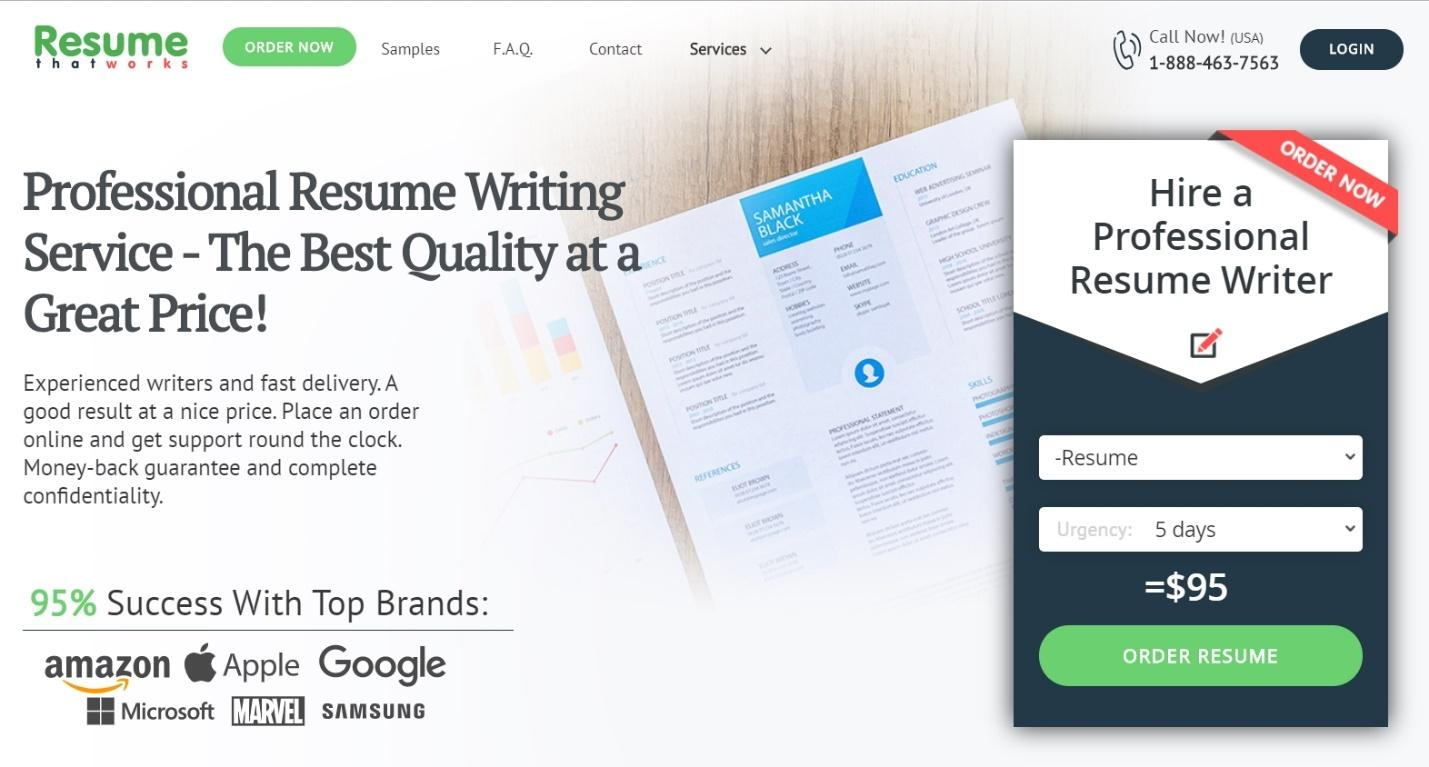 Resumethatworks Review One Of The Best Resume Writing