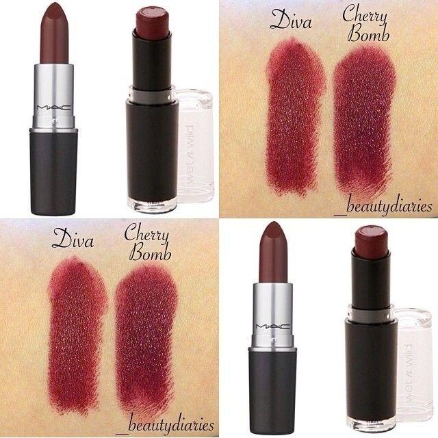 8 drugstore mac lipstick dupes her campus - Mac cosmetics lipstick diva ...