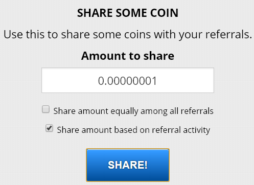 Freedogecoin share
